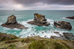 St Agnes, Cornwall, england uk Royalty Free Stock Image