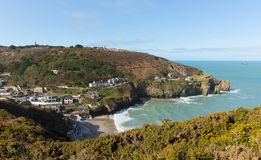 St Agnes Cove North Cornwall England R-U photographie stock