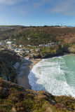 St Agnes Cove North Cornwall England R-U images stock