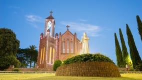 St Agnes Farnego kościół Katolicki port Macquarie Zdjęcia Royalty Free