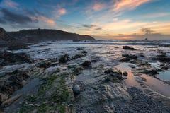 St Agnes i Cornwall Arkivfoto