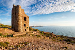 St Agnes i Cornwall Royaltyfri Fotografi