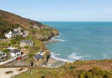 St Agnes plaża Północny Cornwall Anglia UK Zdjęcie Stock