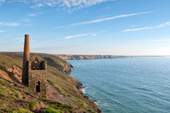 St Agnes w Cornwall Obraz Royalty Free