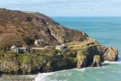 St Agnes wybrzeża widok Cornwall Anglia UK Fotografia Royalty Free