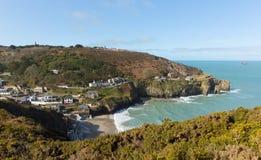 St Agnes zatoczka Północny Cornwall Anglia UK Fotografia Stock