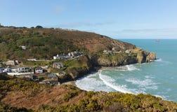 St Agnes zatoka Północny Cornwall Anglia UK Zdjęcie Stock