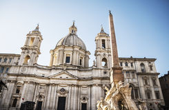 St Agnese in Agone Stock Images
