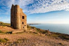St Agnès dans les Cornouailles Photographie stock libre de droits