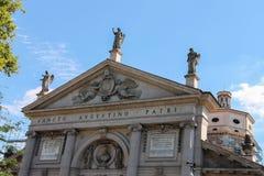St. Agostino Basilica in Piacenza Stock Photo
