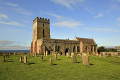 St. Aidans Church Bamburgh Northumberland England, Stock Images