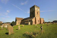 St. Aidans Church Bamburgh Northumberland England, Royalty Free Stock Photography