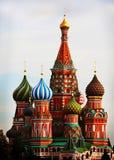 St. Albahaca en Moscú Imagenes de archivo