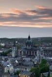St. Alban Kathedraal - Namen, België Royalty-vrije Stock Afbeelding