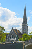 St Alban Kerk Stock Foto