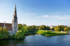 St Alban's church in Copenhagen Stock Photo