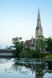 St. Alban& x27; s-Kirche Lizenzfreies Stockbild