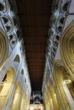 St Albans修道院内部 免版税库存图片