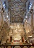 St Albans修道院唱诗班 免版税库存照片