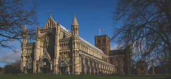 St Albans大教堂 库存图片