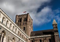 St Albans大教堂 免版税库存照片