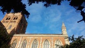 St Albans大教堂 库存照片