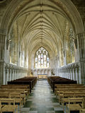 St Albans Abbey Cathedral. Norman Abbey Cathedral in St Albans Royalty Free Stock Images