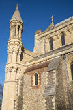 St. Albans Cathedral Stock Photo