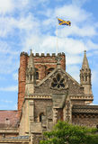St Albans Cathedral, England Stock Photography