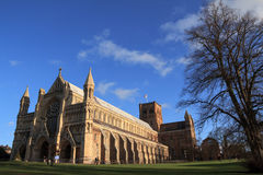 St Albans Cathedral Stock Image