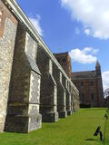 St Albans Cathedral in Hertfordshire, England Stock Images