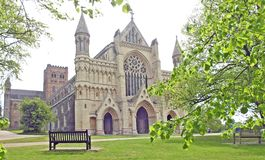 St Albans Cathedral Stock Photography