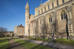 St. Albans Cathedral Stock Photography
