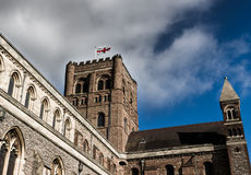 St Albans Cathedral Royalty Free Stock Photo
