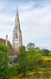 St. Albans church Copenhagen Royalty Free Stock Photos