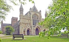 St Albans katedra fotografia stock