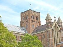 St Albans opactwo zdjęcia royalty free