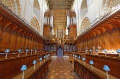 St Albans Quire van de Abdij Stock Foto