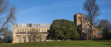 St- Albanskathedrale Stockfoto