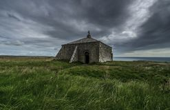 St Aldhelm's head chapel Royalty Free Stock Photography