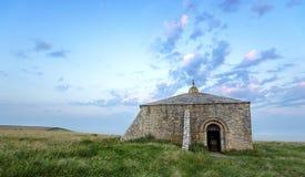 St Aldhem's kaplica Obrazy Royalty Free