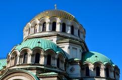 St Aleksander Nevsky katedra Zdjęcia Stock