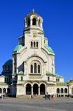 St Aleksander Nevsky katedra Obraz Royalty Free