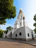 St Aleksievsky寺庙纪念碑1912年 免版税库存图片