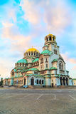 St. Alexander Nevski Cathedral in Sofia, Bulgaria Royalty Free Stock Image