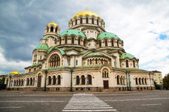 St. Alexander Nevski Cathedral in Sofia, Bulgaria Royalty Free Stock Images