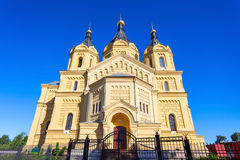 St Alexander Nevskiy kerk Stock Afbeeldingen