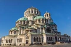 Catedral do St. Alexander Nevsky Fotografia de Stock