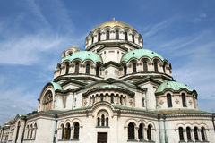 St. Alexander Nevsky Cathedral Royalty Free Stock Photo