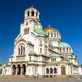 St. Alexander Nevsky Cathedral royalty-vrije stock foto's